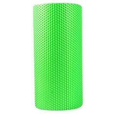5.9 Inches EVA Yoga Pilates Fitness Busa Rol Fisio Blok Latihan Pijat Gym Cure Trigger Point (HIJAU)