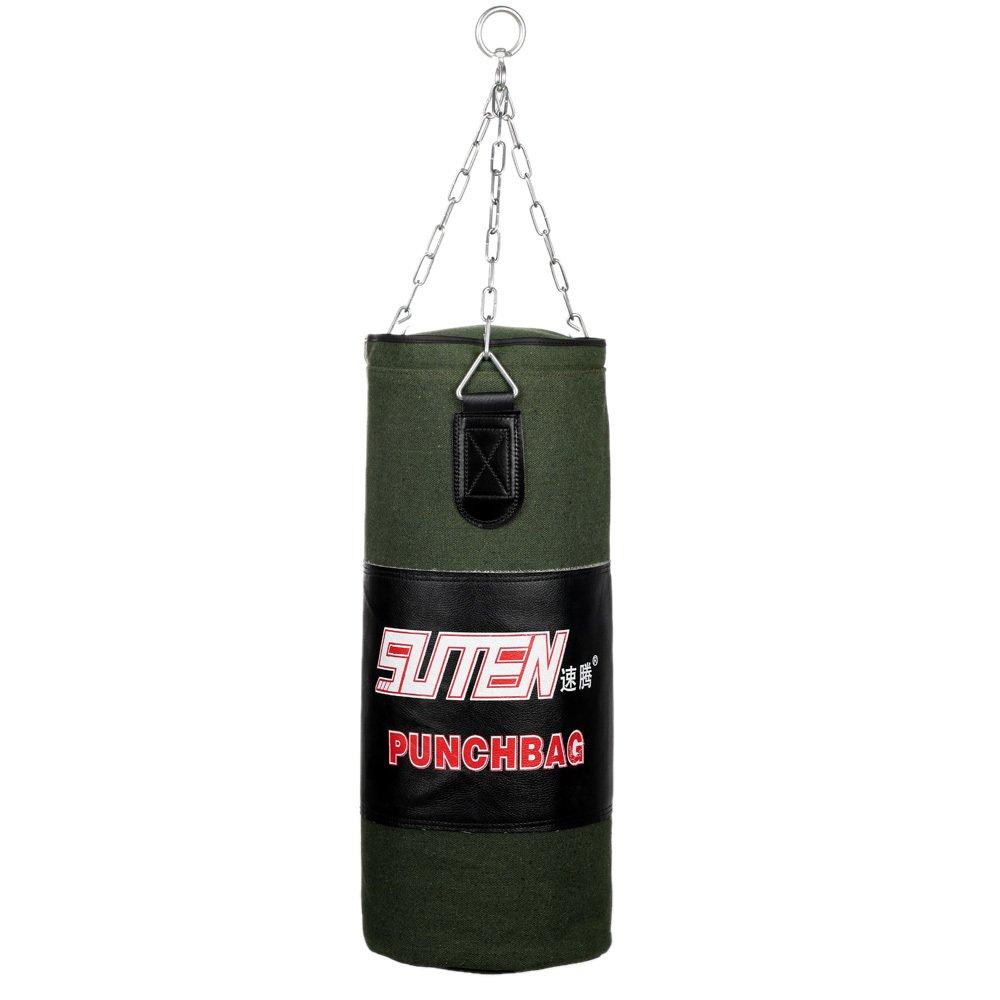 ... 60-80 cm tinju gratis pelatihan tempur memaksakan gantung tendangan pukulan kosong tas dengan rantai ...