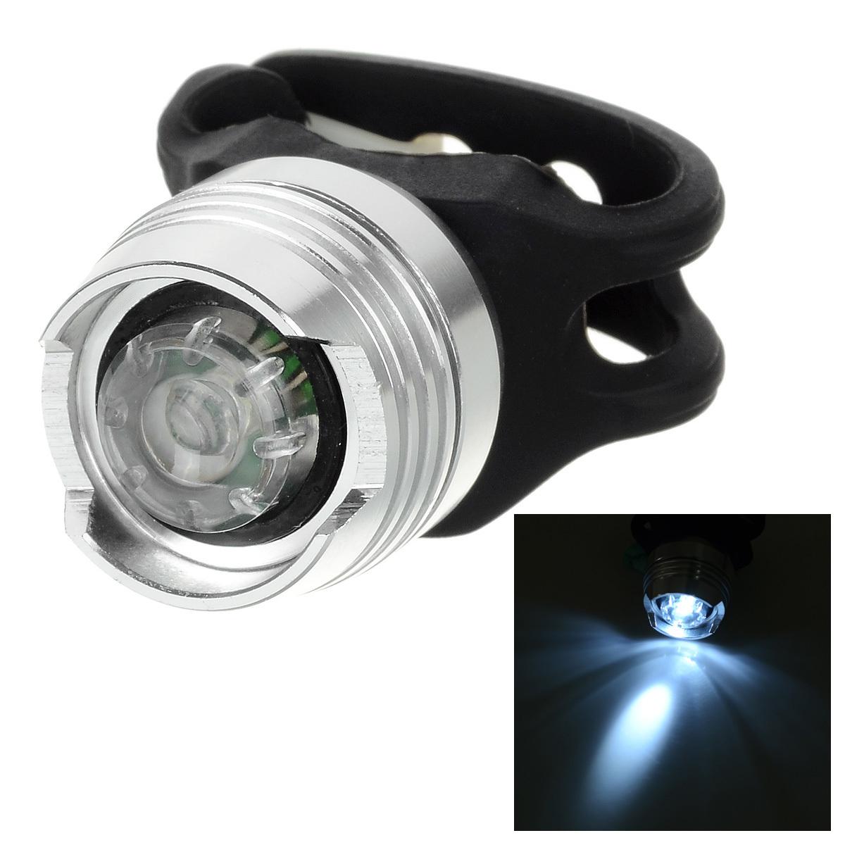... 8 lumen 2-mode putih cahaya 1-LED/lampu helm sepeda lampu sepeda ...