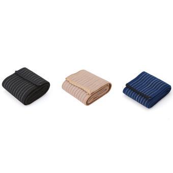 90 cm Perban Elastis Pita Olahraga Pelindung Lutut Siku Pergelangan Kaki Pelindung Band (biru Laut) LALANG - 5