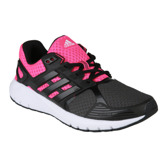 Adidas Duramo 8 Women's Running Shoes - Utility Black F16-Core Black-Shock Pink S16