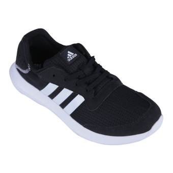 Adidas Element Refresh Men's Running Shoes - Core Black-Footwear White