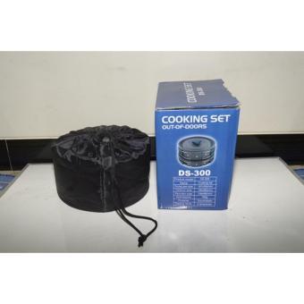 Alat Masak di Gunung Camping Cooking Set DS 300 Terlaris - 4