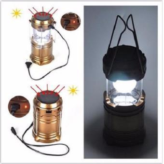 Anekaimportdotcom Lampu Emergency 6LED / Lampu Darurat + Senter -Hitam - 2