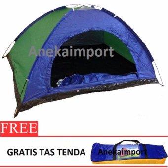 Anekaimportdotcom Tenda Camping 2-3 Orang Ukuran 200cm x150cmx110cm SY210 - 3