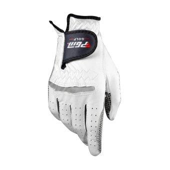 harga Anti-selip sarung tangan golf dari kulit domba murni untuk tangan kiri (putih + 27yards) Lazada.co.id
