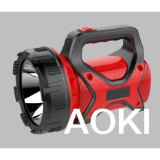 Aoki Premium AK-6671 Senter LED Jumbo 15 Watt Super Terang - Merah