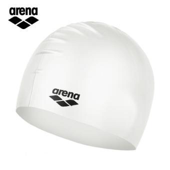 Arena Silikon Warna Solid Pria Dan Wanita Tahan Air Topi Renang Topi Renang