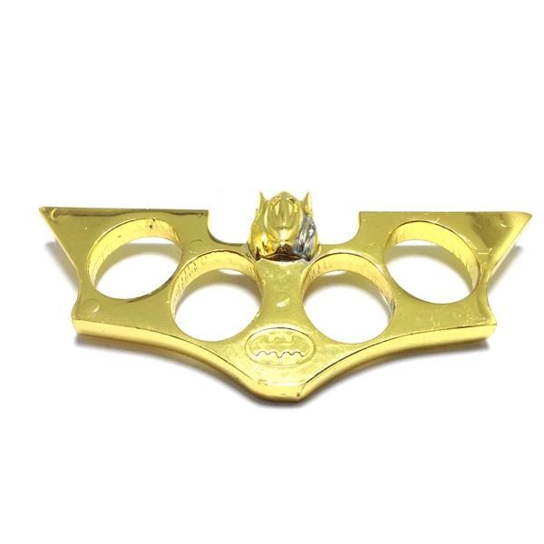 Armor Military brass knuckle knakel kerling trakling batman - Gold