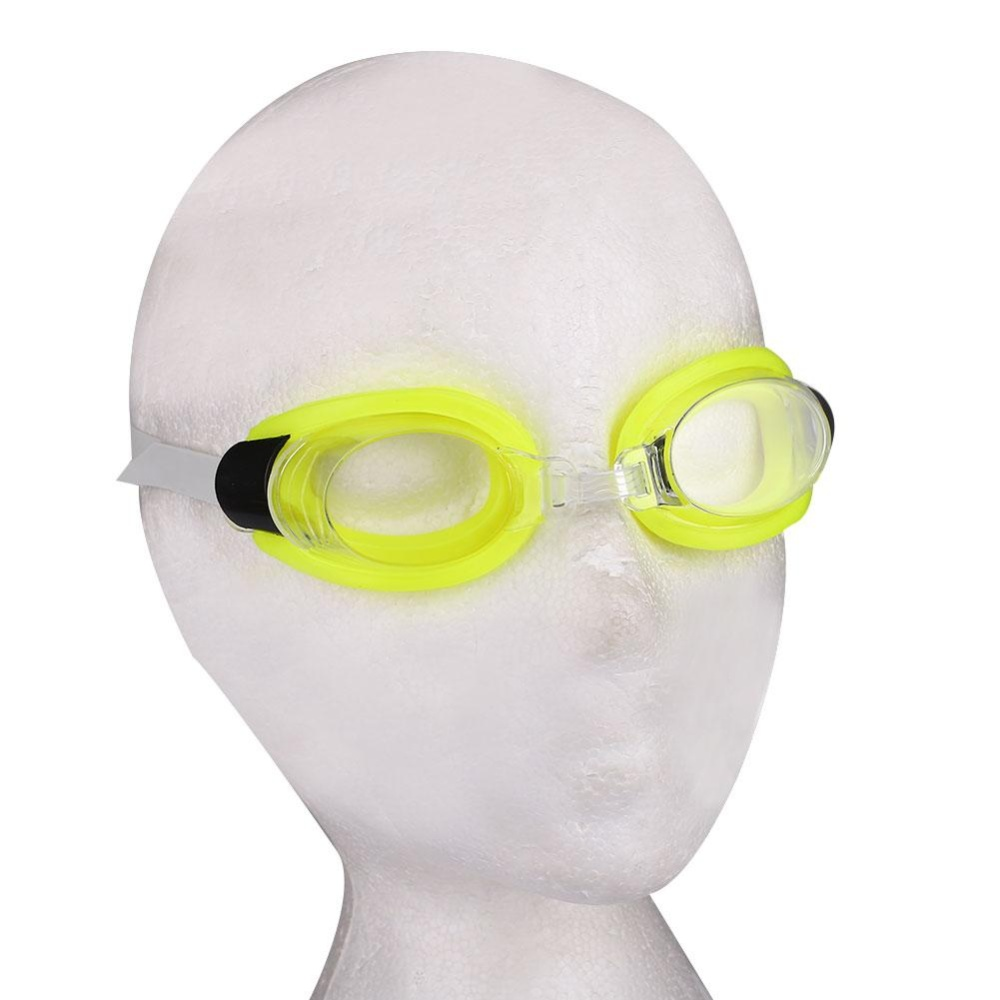 Aukey 0 shipping fee 3PCS Set Waterproof Training Swimming Goggles Adjustable Racing Competition - intl