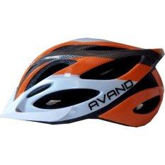Avand A06 Bikes Helmet - Helm Sepeda Orange