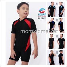 Baju Renang Anak Sd Cowok Cewek Diving Polos Dv-Tg-019 - 3C793D