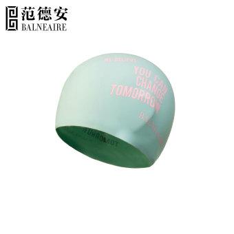 HEMAT Balneaire pria dan wanita dengan rambut panjang dewasa besar topi renang topi renang silikon topi renang MURAH