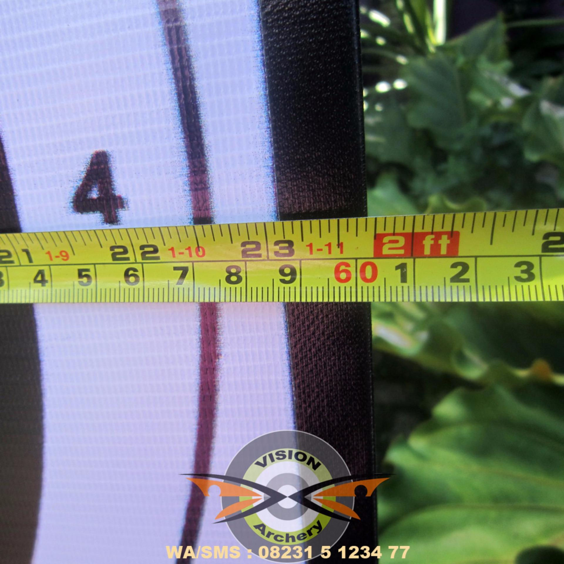Belanja Murah Bantalan Face Target 60x60x5cm Bergaransi Bantal Panahan Karet Sasaran Arrow Busur Anak Panah