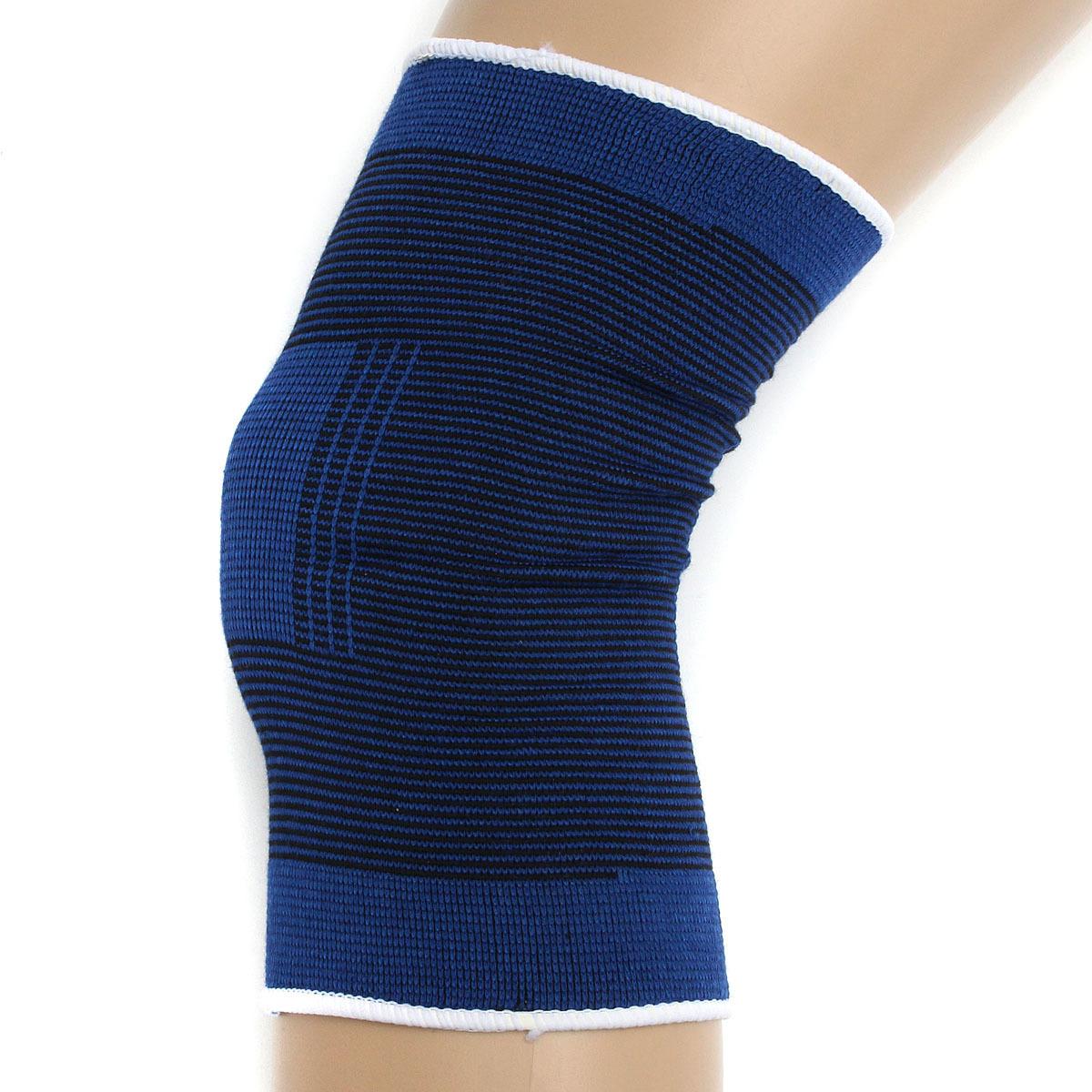 Baru 2 Buah Penyangga Lutut Kaki Lutut Cedera Lengan Dukungan Penyangga Melindungi Olahraga Gym