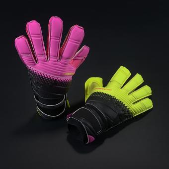 harga Baru sarung tangan lateks sarung tangan penjaga gawang sepak bola sepak bola sarung tangan kiper profesional sarung tangan dengan jari ( 1 pasangan ) ukuran 9 - International Lazada.co.id