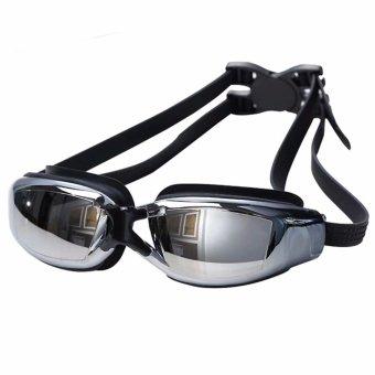 Beauty Kaca Mata Renang Santai Swimming Goggles Mirror Anti Fog UVShield Safety Swimming Goggles With Waterproof
