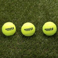 Bellamall:Sports Vanilla Green 1Pc Tennis Balls Rubber Woolen For Training Competition - intl