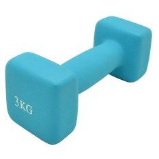 Bfit Neoprene Dumbbell 3kg - Neon Blue 1pcs