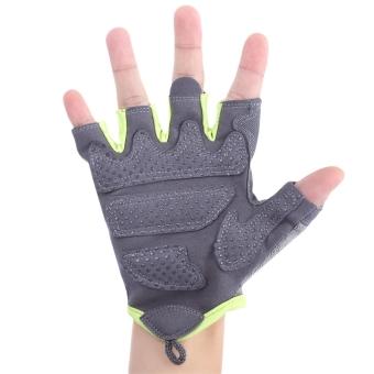 BOER dipasangkan olahraga kebugaran Gym olahraga angkat besi wanita Sarung Tangan setengah jari - Internasional - 5