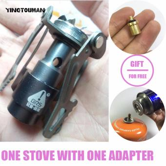 BRS-3000T Ultra-light Titanium Alloy Camping Stove Gas Stoves Outdoor Cooker Outdoor Gas