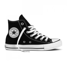 Converse Chuck Taylor All Star Canvas Hi Cut Sneakers Unisex Chuck Size - Black