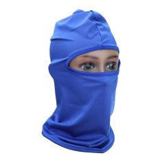 Cycling Motorcycle Mask Outdoor Protection Full Face (Blue) - intl