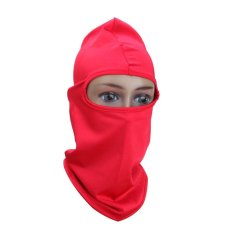 Cycling Motorcycle Mask Outdoor Protection Full Face (Red) - intl