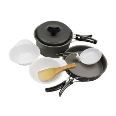 DSC Cooking Set DS 200 Camping Hiking-Out Door - Hitam
