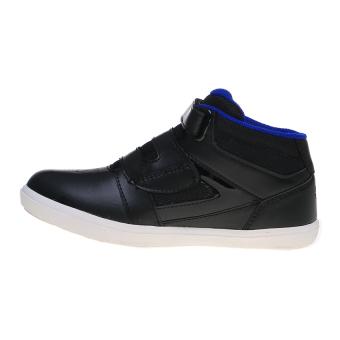 Eagle Optimus Jr Sepatu Sneakers - Blk/Blu - 4