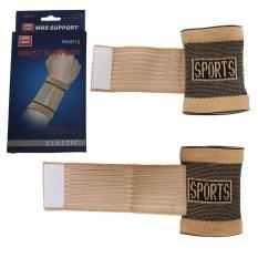 EELIC 8512 Wrist Support Pelindung Pergelangan Tangan Saat Olahraga Yang Sangat Cocok Digunakan Saat Berolahraga Apa Saja Seperti : Badminton , Tennis , Volly , Golf .