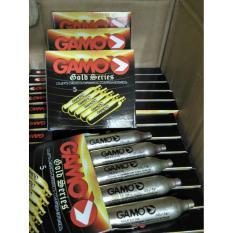 Gas Gamo Gold 12 Gram Isi 5 Capsule Gold Series Co2 Gamo Made In Usa - 7B367E
