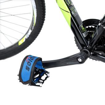 Gigi Tetap Fixie BMX Sepeda Anti Slip Double Pedal Kaki Penjepit Tali Perekat Tali Sabuk