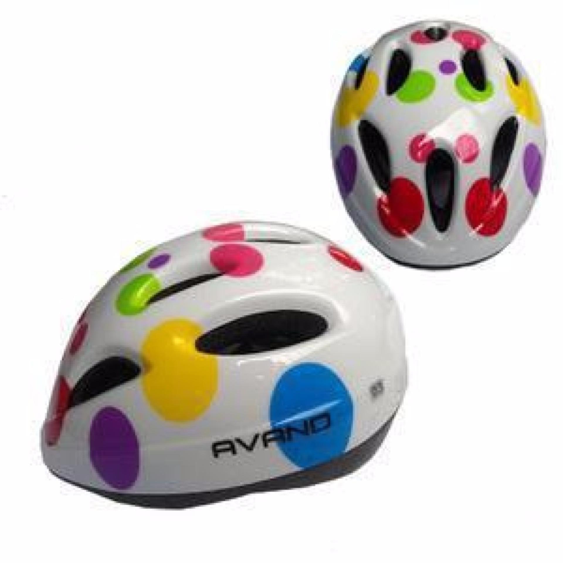 eShop Checker Helm Sepeda Anak Merk Avand  9b6ffb94b3