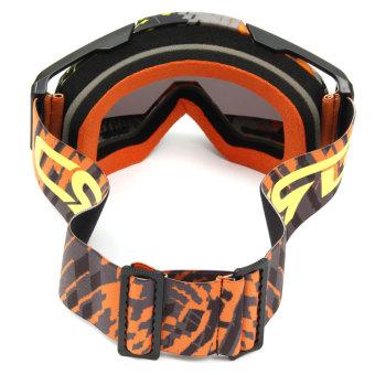 Helmet Motocross Motorcycle Goggles Anti-Fog UV Protection ATV Quad MX Bike Eyewear - 5