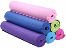 HOLYWINGS - Matras Yoga+Tas Anti Selip Kualias Bagus / Matras Yoga Tebal 7mm / Matras Olahraga [ORANGE]