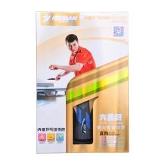 HUOBAN 6346B 6 Star Table Tennis Ping Pong Racket 1 Piece Short Handle Racket - intl
