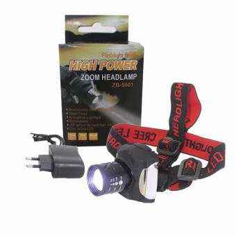 Harga EELIC LAS-Z5901 Lampu Senter Head Lamp Zoom Senter Kepala