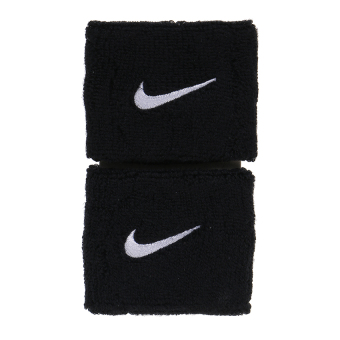 Harga Nike Swoosh Wristbands - Black/White
