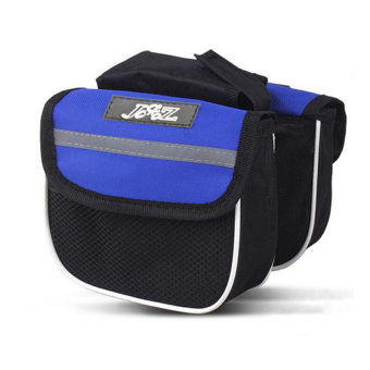 Harga PAlight Double Sides Bicycle Bag (Blue)