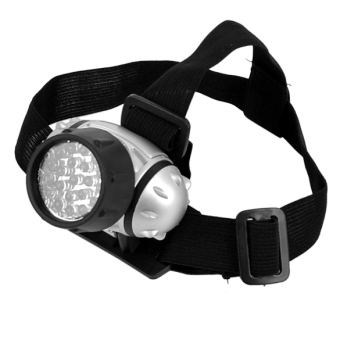 Harga Jo.In 21 LED Head Lamp Head Light Torch Lamp Hiking Flashlight (Black)