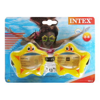 Harga Intex - Fun Googles - Yellow