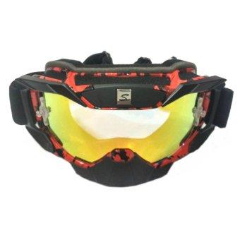 Jual Universal Glasses Kacamata Google Carting Murah Harga Source · Harga Snail Kacamata Goggle Motocross MX36