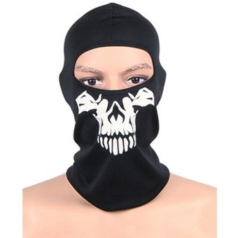 Harga Ai Home Call of Duty Ghost Caps Seal Caps Tactical Military Fans Skull Mask CS Riding Hood Face Mask MJ002C