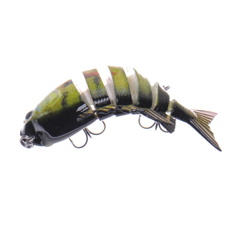 Harga Crazy Panfish Series Multi Jointed Fishing Lure Bait Swimbait Life-like Floa