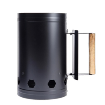 Harga 360WISH Portable Outdoor Camping Picnic Wood Burning Stove Firewood Charcoal BBQ Barbecue Barrel Rapid Fire Stove - Black - intl