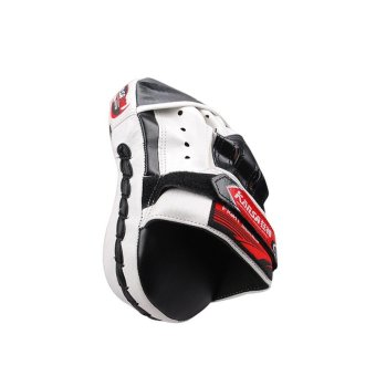 Harga OEM Taekwondo Sanda Muay Thai Boxing Mitt Single Target (Black and white) - Intl