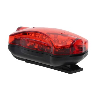 ... Harga Vanker Cycling Bike Bicycle MTB 5 LED WaterProof Rear Light Safety Caution Tail Light