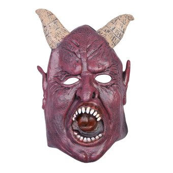 Scary Fierce Mask Halloween Masquerade Adult Mask Cosplay Party Costume - intl