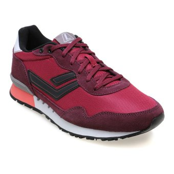 Harga League Strive M Sneakers - Beet Red- Port Royale